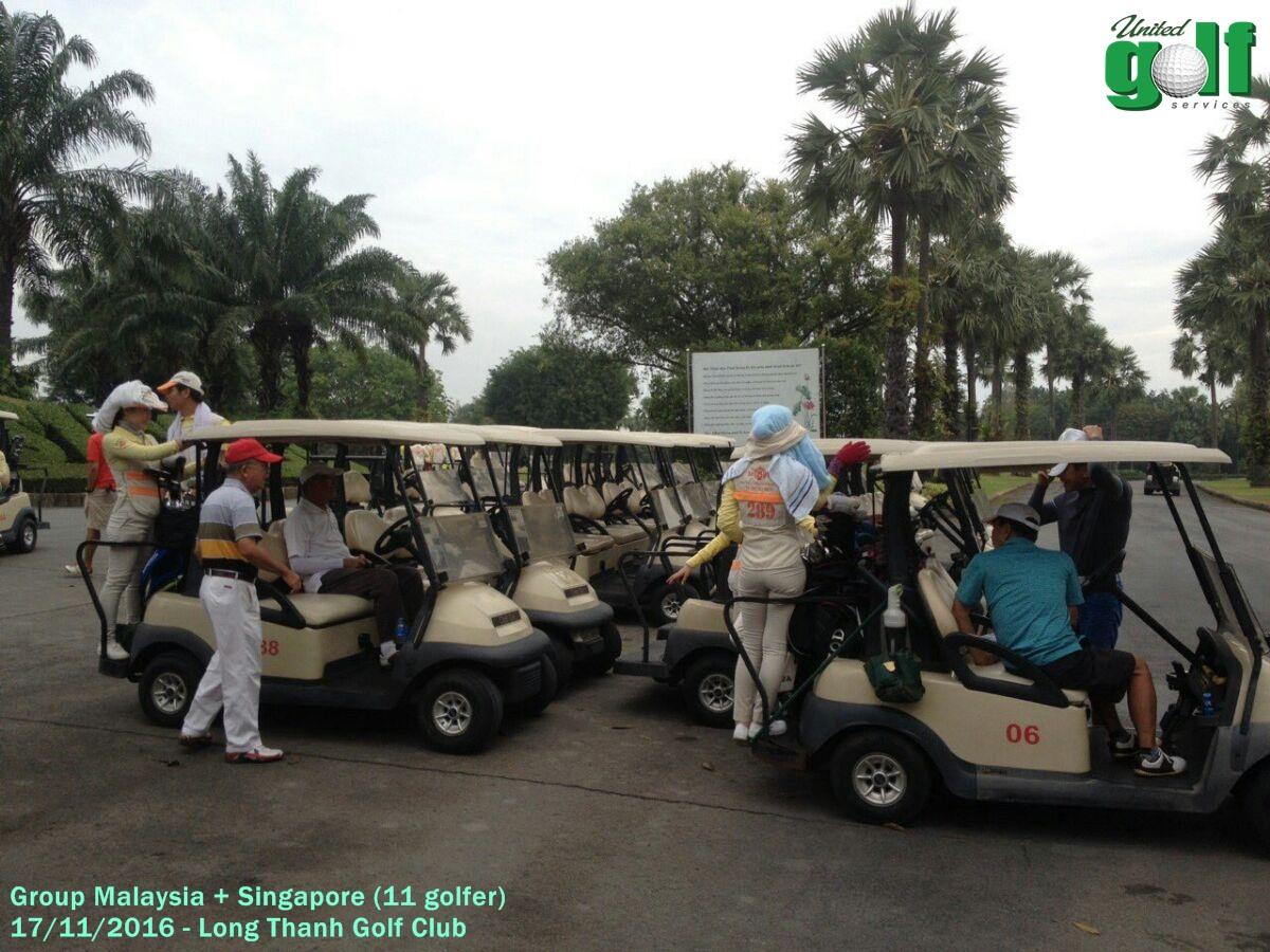 golf tour tại Long Thành