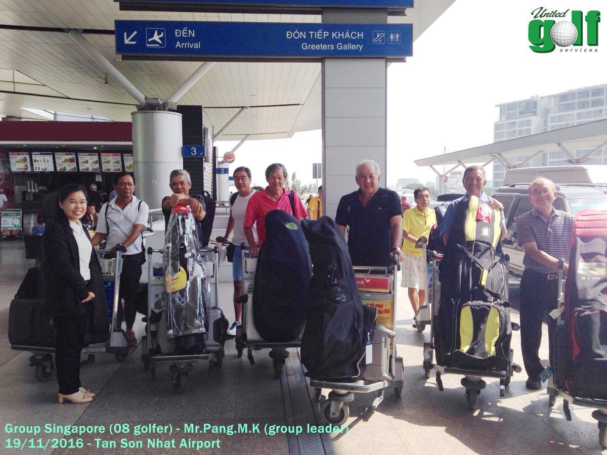 golf tour - Mr. Pang.M.K tại sân bay Tân Sơn Nhất -2