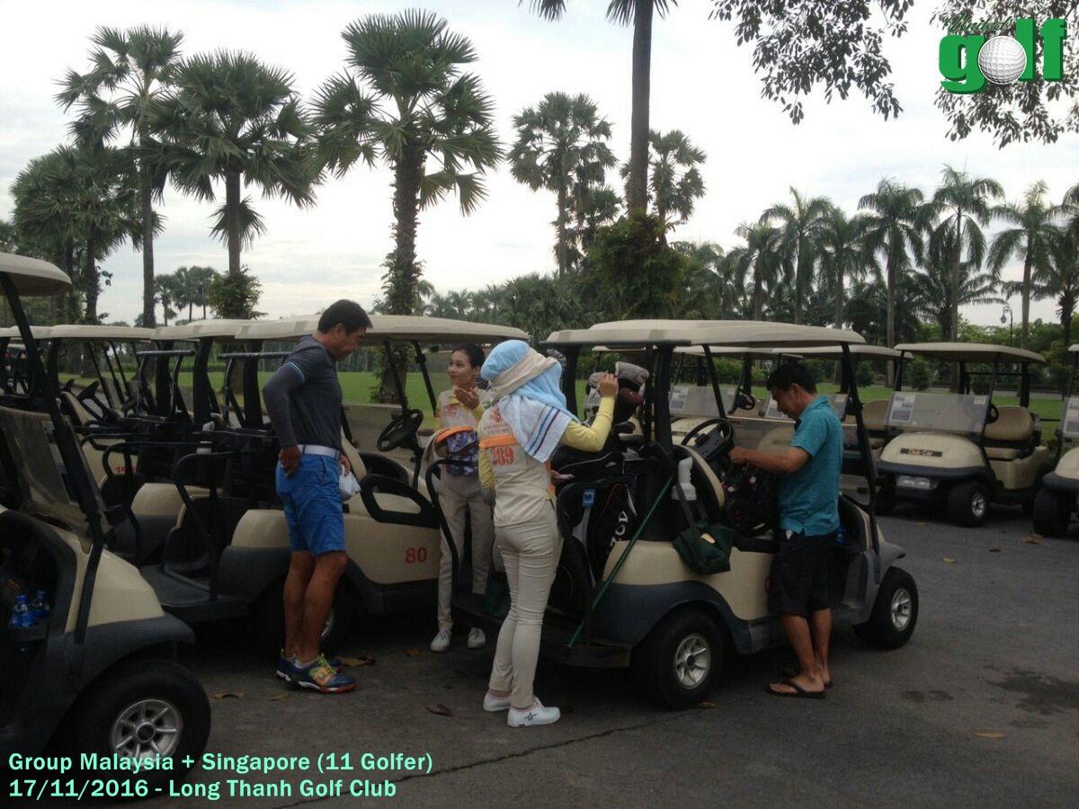 golf group Malaysia và Singapore tại Long Thành