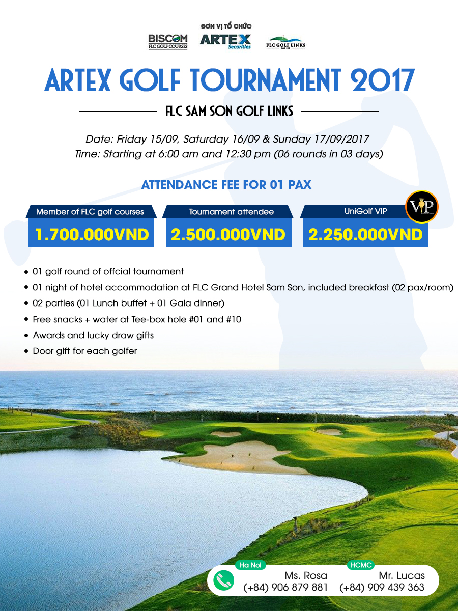 Artex Golf Tournament 2017