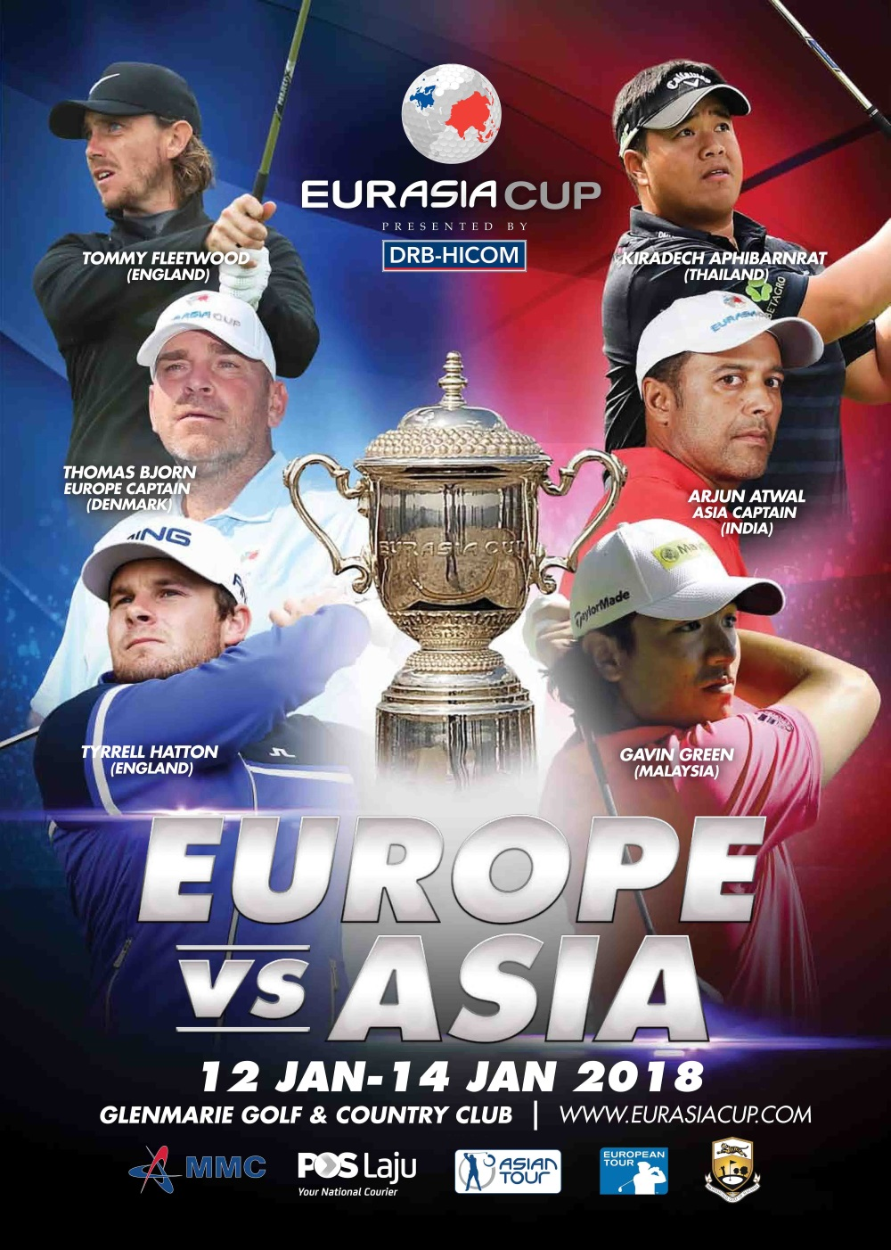 Eurasia Cup 2018 (5 Days 4 Nights 3 Golf Rounds)