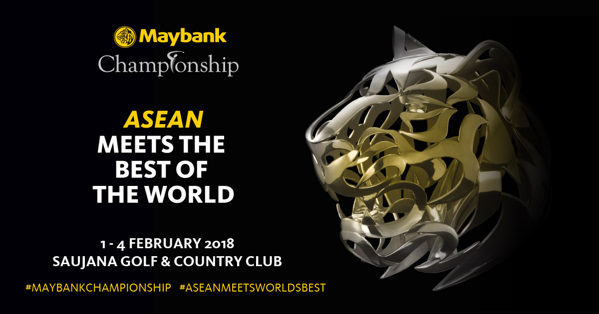 Maybank Championship 2018 (5 Days 4 Nights 3 Golf Rounds)