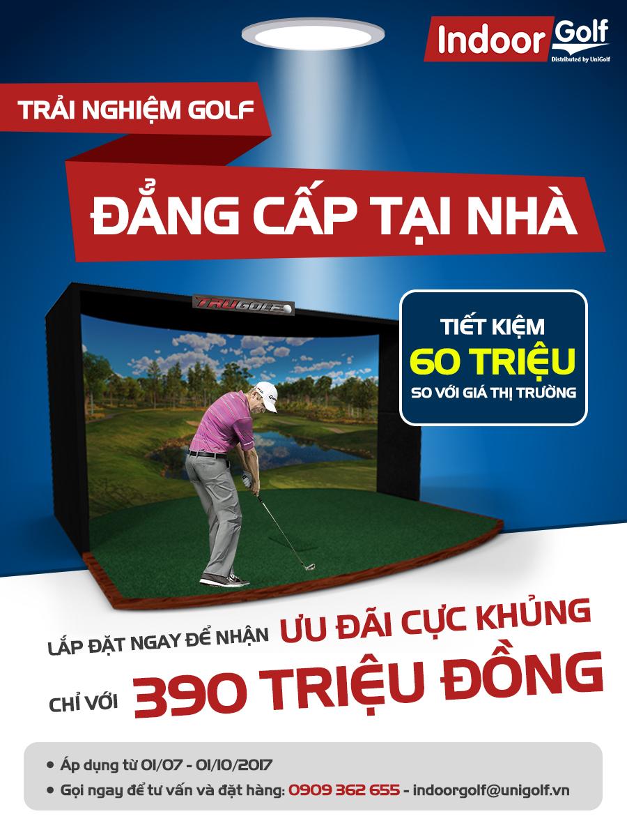 Chơi Golf Tại Nhà – Có Xa Xỉ Như Bạn Nghĩ?