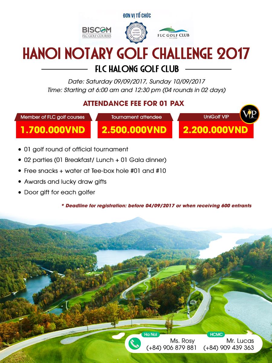 Hanoi Notary Golf Challenge 2017