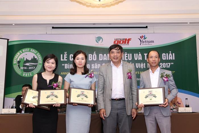 [NEWS] Sân Golf Tốt Nhất Việt Nam 2017 – The Bluffs Hồ Tràm Strip