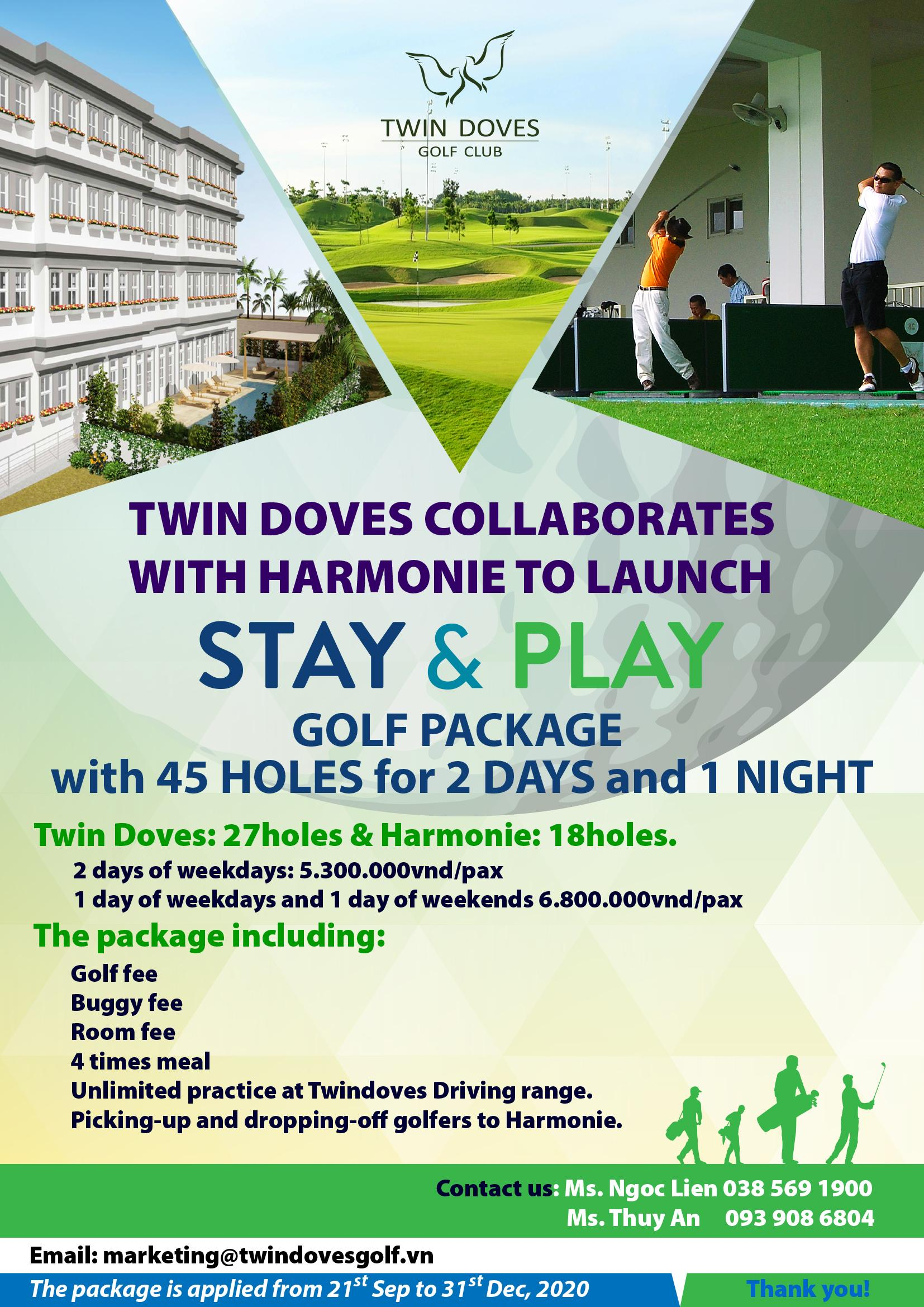 Stay And Play Twindoves Golf Course