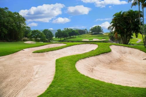 Bố trí của sân golf Chí Linh Hải Dương