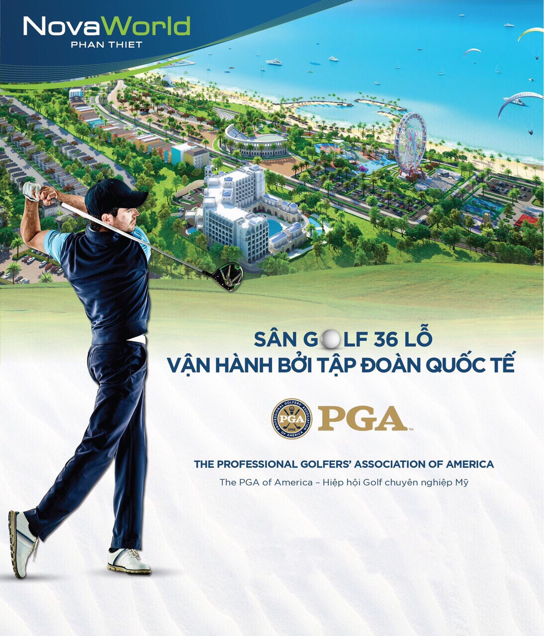 Novaland Phan Thiet Golf Course (Binh Thuan) Expected to operate in 2021