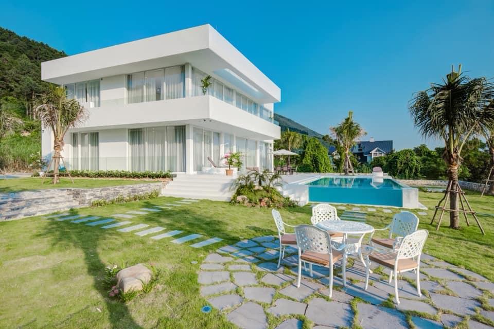 White villa sang chảnh tại Tam Đảo