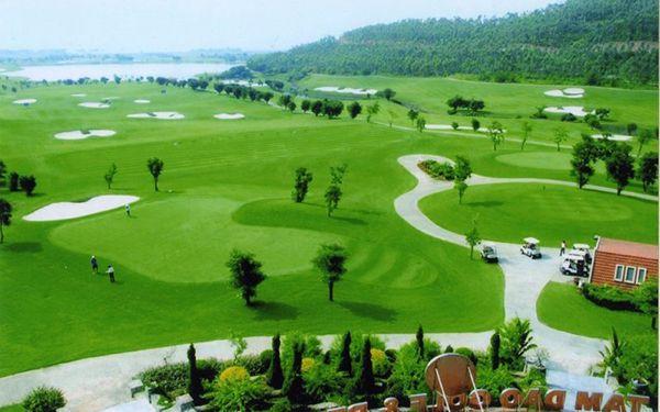 Sân golf Đại Lải đẹp mê ly