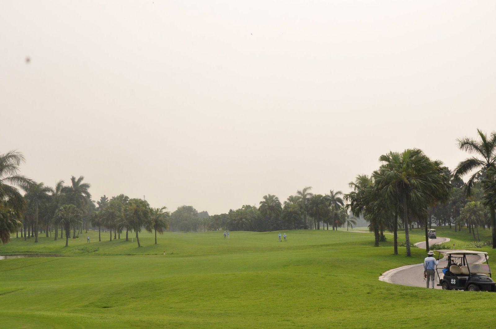 Sân golf Đầm Vạc Vĩnh phúc