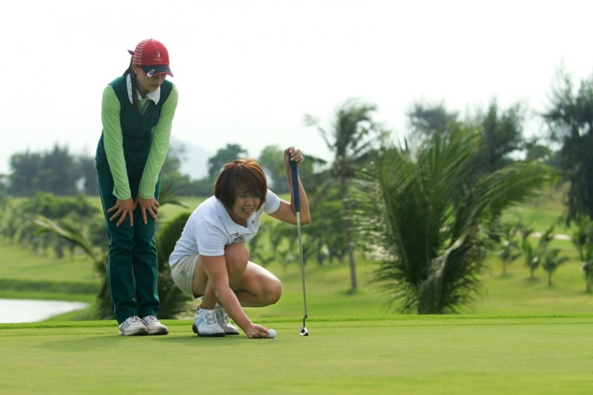sân golf vũng tàu paradise đẹp và thơ mộng