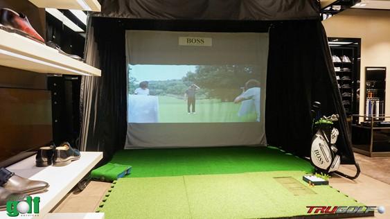 Hình ảnh. Hệ thống indoor golf