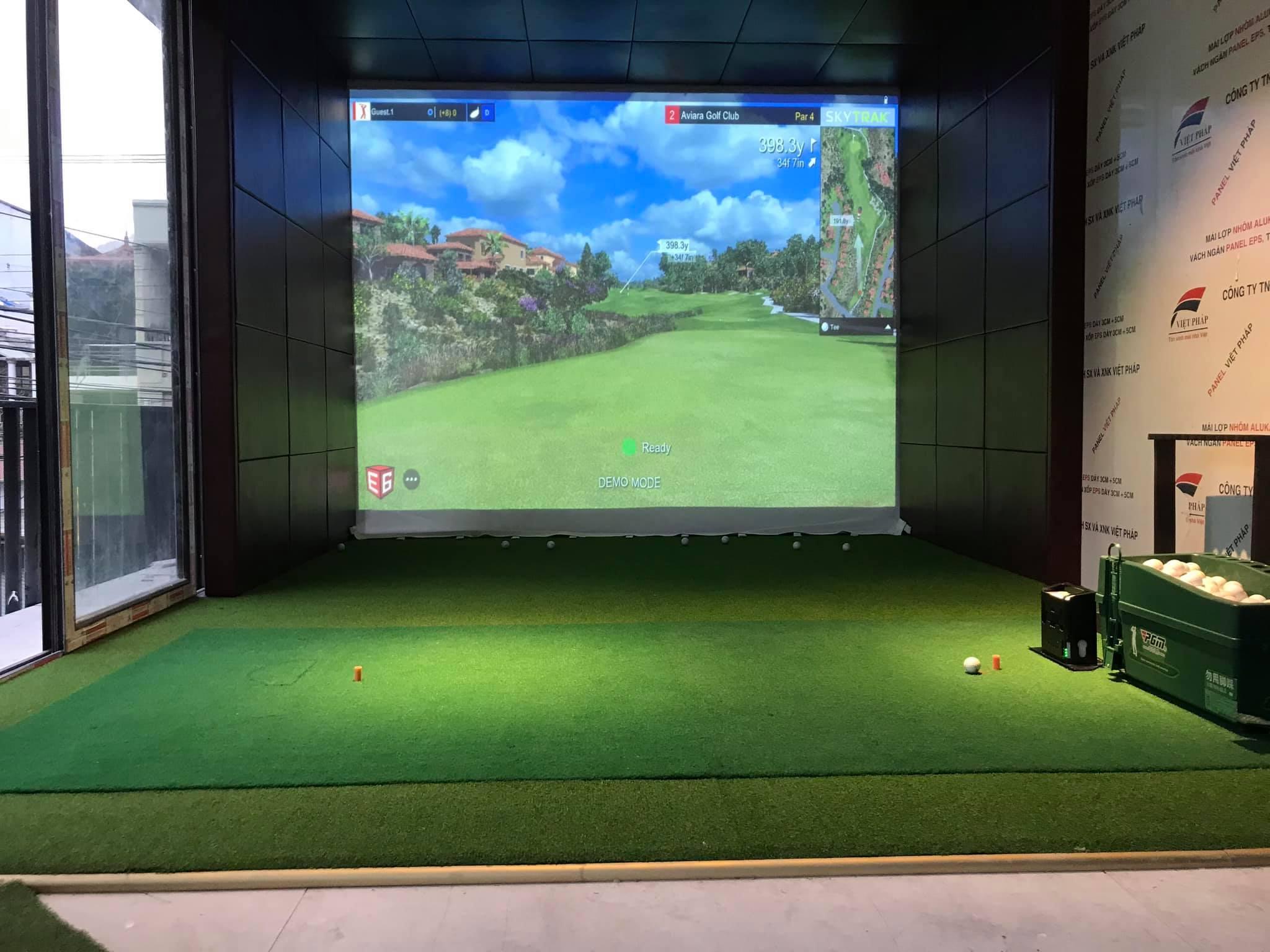 Điểm cho thuê hệ thống indoor golf