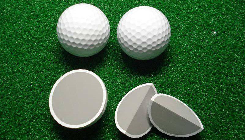 Chất liệu làm bóng golf